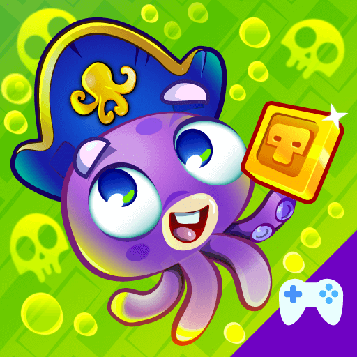 Octo Curse is a platformer action game with lot of fun and golden nuggets